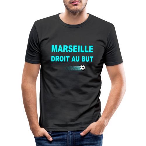 MARSEILLE DROIT AU BUT - T-shirt près du corps Homme