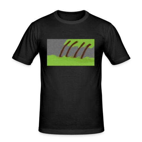 Storm in the Wind - Mannen slim fit T-shirt