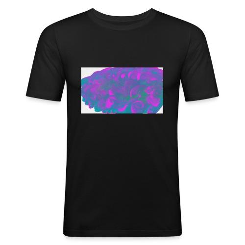 subbuglio-jpg - Maglietta aderente da uomo