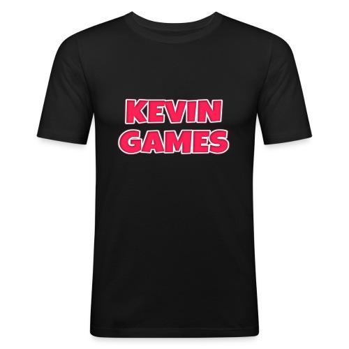 Maglietta KevinGames YouTube - Maglietta aderente da uomo