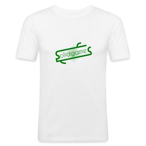 Solidgames Crewneck Grey - Men's Slim Fit T-Shirt
