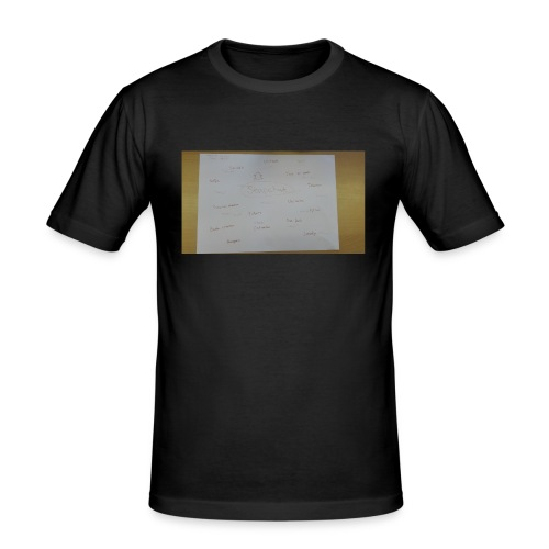 a3 - Mannen slim fit T-shirt