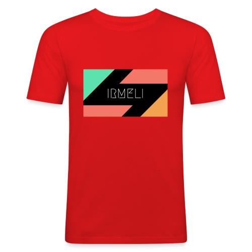 Irmelis Logo glothes - Miesten tyköistuva t-paita