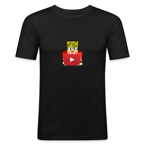 thehollander t-shirt logo - Mannen slim fit T-shirt