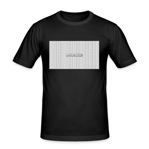 Mrblockplayz - Men's Slim Fit T-Shirt