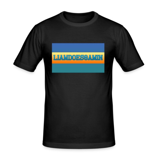 LiamDoesGamin - Men's Slim Fit T-Shirt