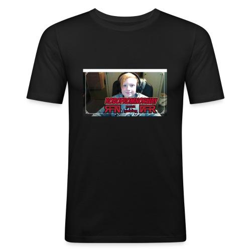 RobofromNorway design - Slim Fit T-skjorte for menn