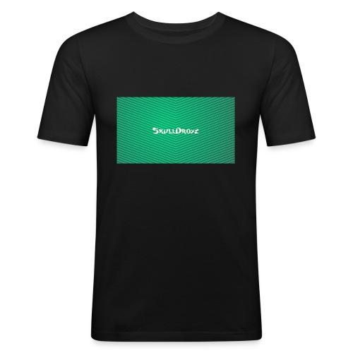 backgrounder - Männer Slim Fit T-Shirt