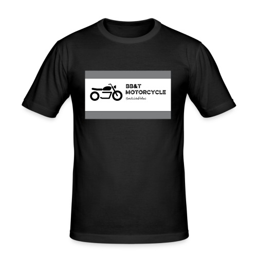 BB&T Motorcycle - Men's Slim Fit T-Shirt