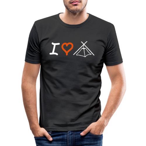 I love Kothe - Männer Slim Fit T-Shirt