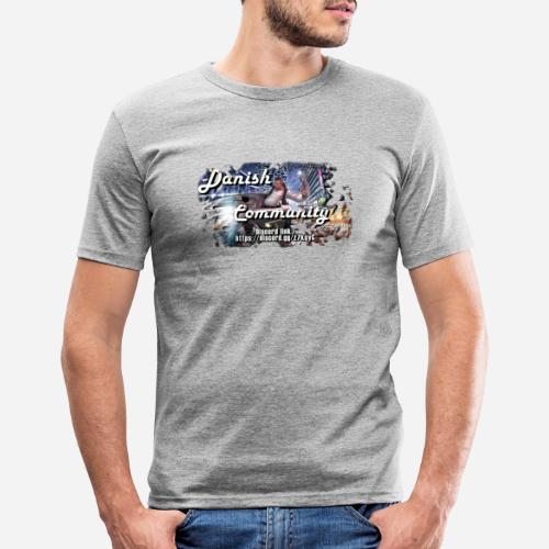 Dansih community - fivem2 - Herre Slim Fit T-Shirt