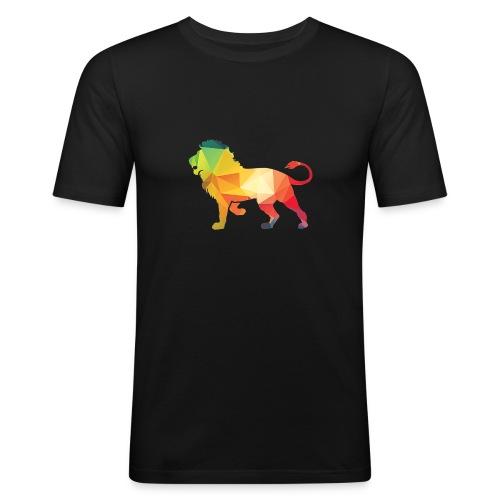 lion - Mannen slim fit T-shirt