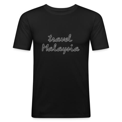 travel Malaysia - Männer Slim Fit T-Shirt