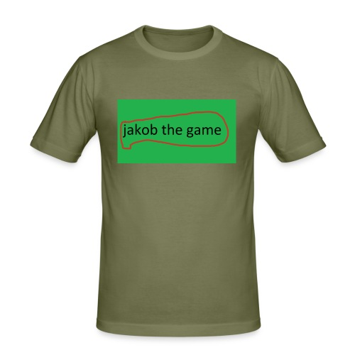 jakob the game - Herre Slim Fit T-Shirt