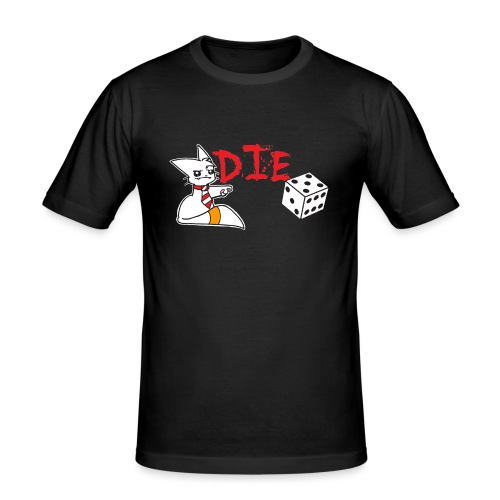 DIE - Men's Slim Fit T-Shirt