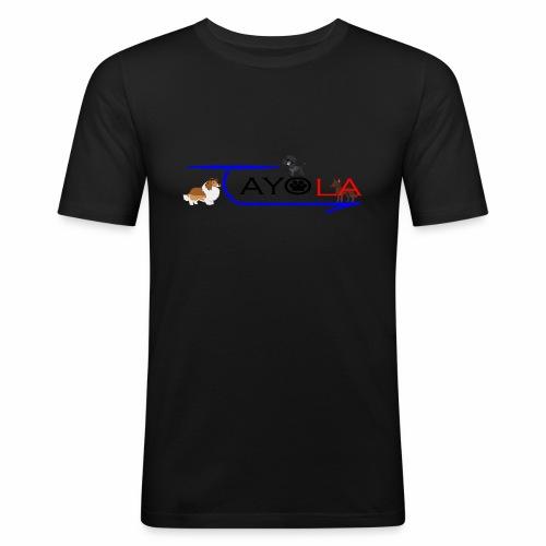 Tayola Black - T-shirt près du corps Homme