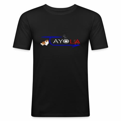 Tayola White - T-shirt près du corps Homme