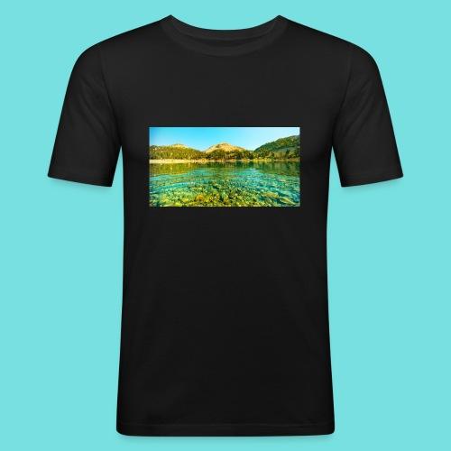 Nature (MALE) - Men's Slim Fit T-Shirt