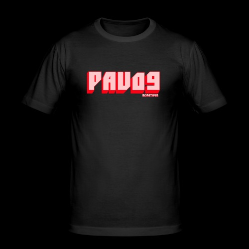 SNAPBACK PAVO9 - Men's Slim Fit T-Shirt