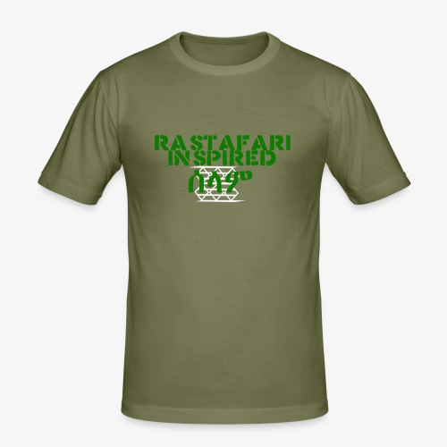 Inspired Rastafari - Men's Slim Fit T-Shirt
