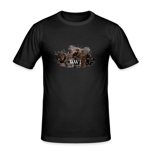 WW1 Game Series - Mannen slim fit T-shirt