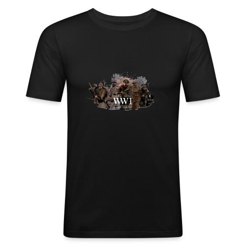 WW1 Game Series - Mannen slim fit T-shirt