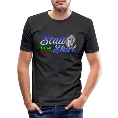 Special Edition Stall Shirt Reiten Geschenkidee - Männer Slim Fit T-Shirt