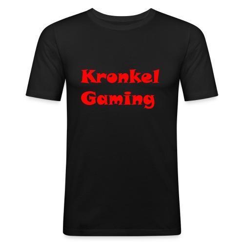 Baseball Cap Kronkelgaming - Mannen slim fit T-shirt