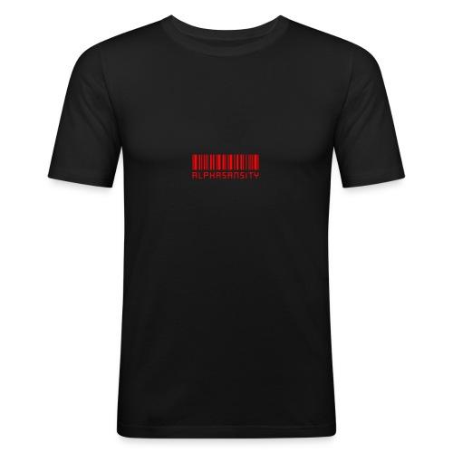 BASS X ALPHASANSITY - Mannen slim fit T-shirt