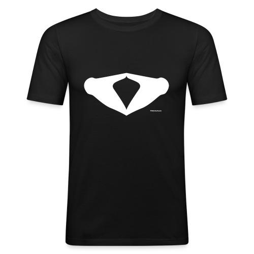 Merkelraute - Männer Slim Fit T-Shirt