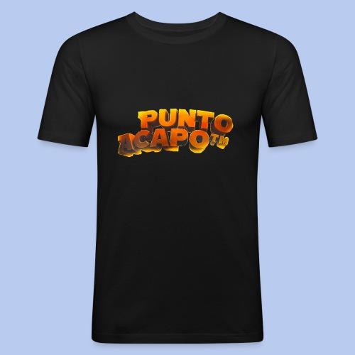 Maglietta PuntoACapo- Original Design- - Maglietta aderente da uomo