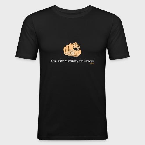 Exe dein Getränk - Männer Slim Fit T-Shirt