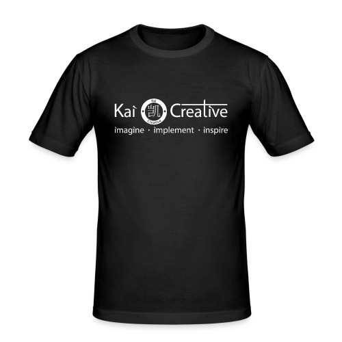 Classic Kai Creative Logo T-shirt - Men's Slim Fit T-Shirt