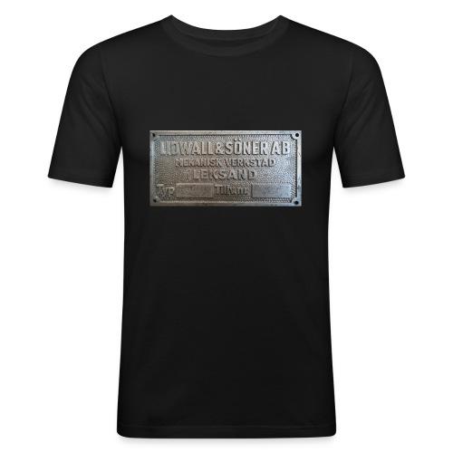 Tillverkningsskylt före 1967 - Slim Fit T-shirt herr
