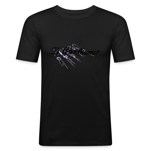 werkkamer edit - Mannen slim fit T-shirt
