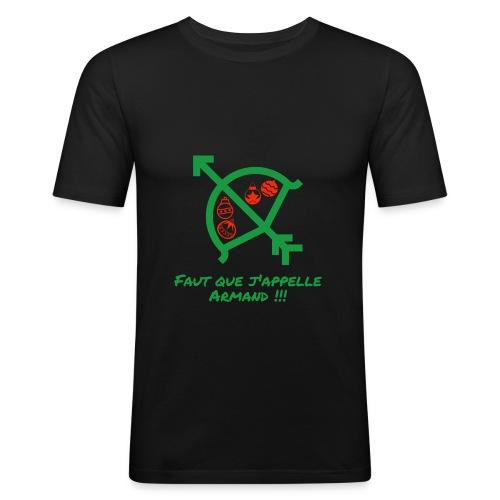 Faut que j'appelle Armand - T-shirt près du corps Homme