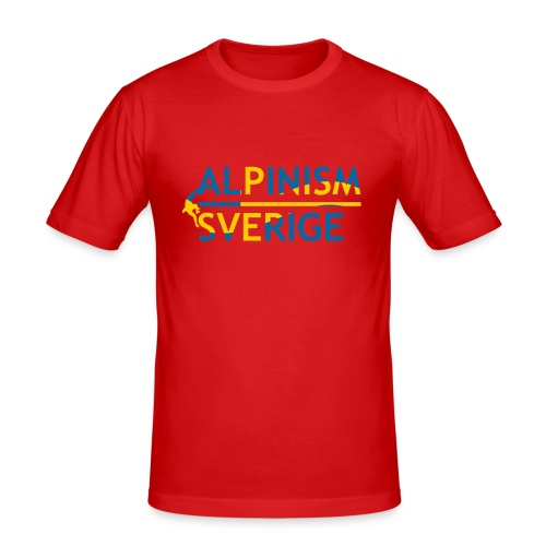 Alpinism Sverige - Slim Fit T-shirt herr