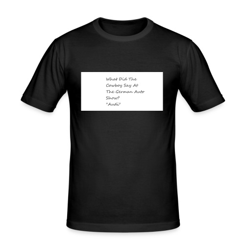 Car Joke - Men's Slim Fit T-Shirt