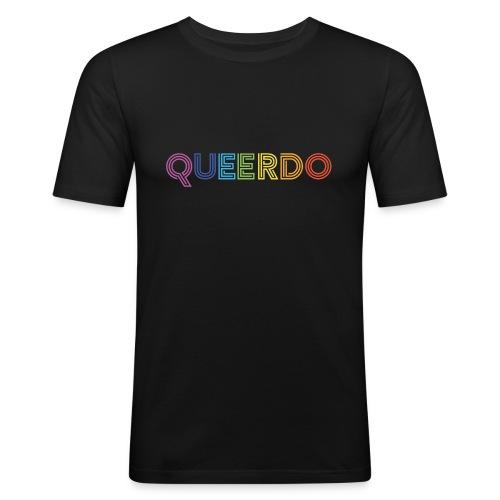 Queerdo - Men's Slim Fit T-Shirt