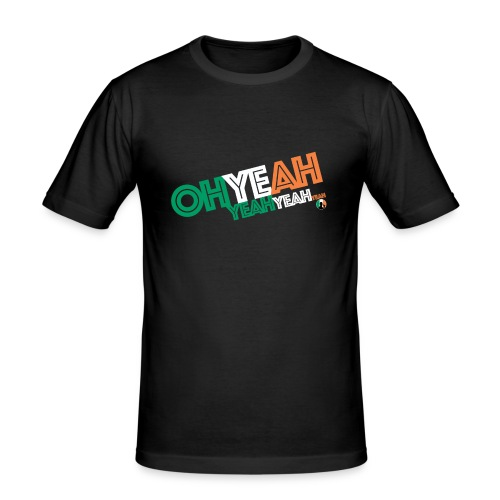 BazzlarOhYeah - Men's Slim Fit T-Shirt