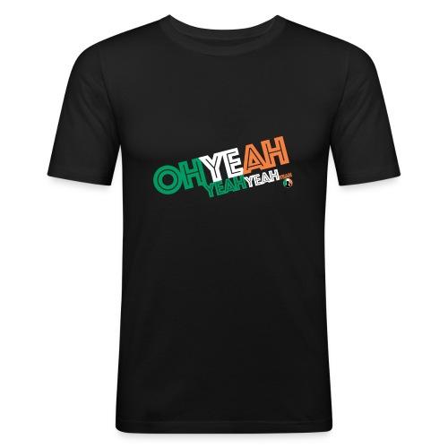 BazzlarOhYeah - Men's Slim Fit T-Shirt