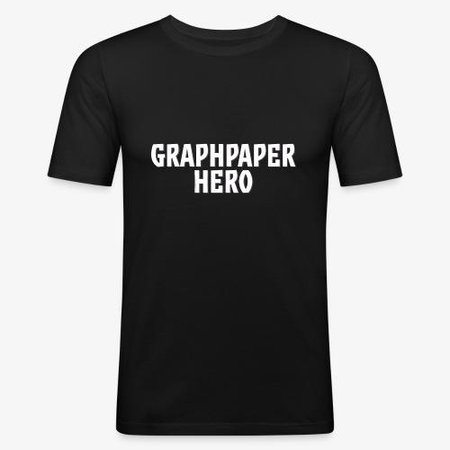 Graphpaper Hero - Men's Slim Fit T-Shirt