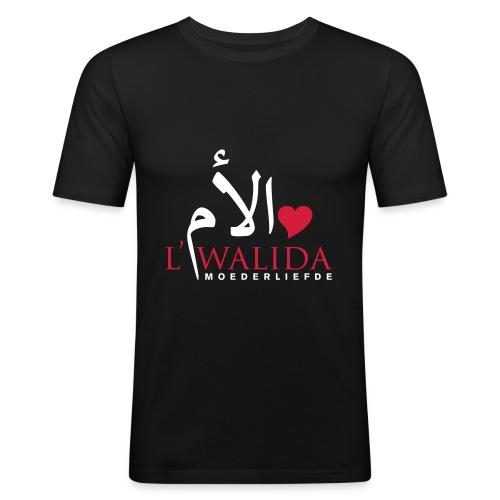 Moederliefde t-shirt donker - slim fit T-shirt