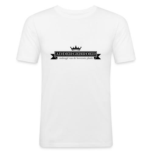 Addergebroed - Mannen slim fit T-shirt
