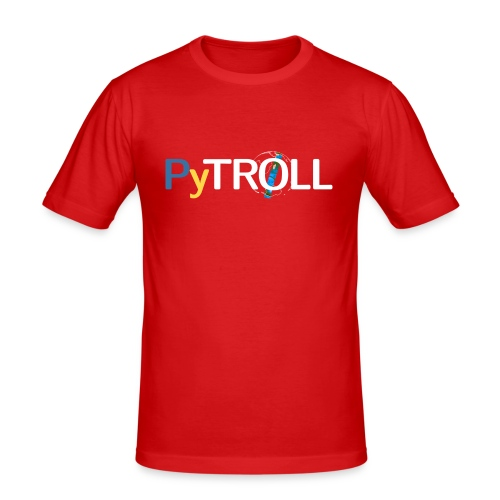 pytröll - Men's Slim Fit T-Shirt