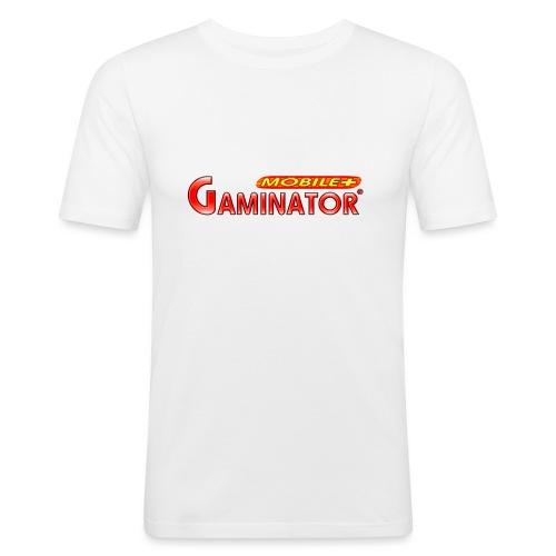 Gaminator logo - Men's Slim Fit T-Shirt