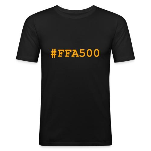 ffa500 - T-shirt près du corps Homme