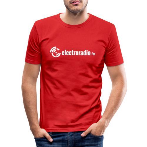 electroradio.fm - Men's Slim Fit T-Shirt