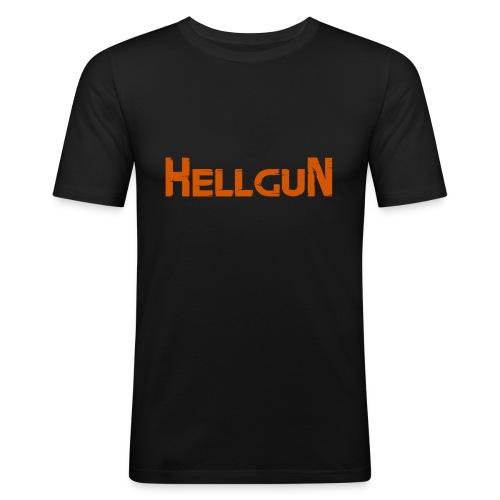 Logo HELLGUN - Männer Slim Fit T-Shirt