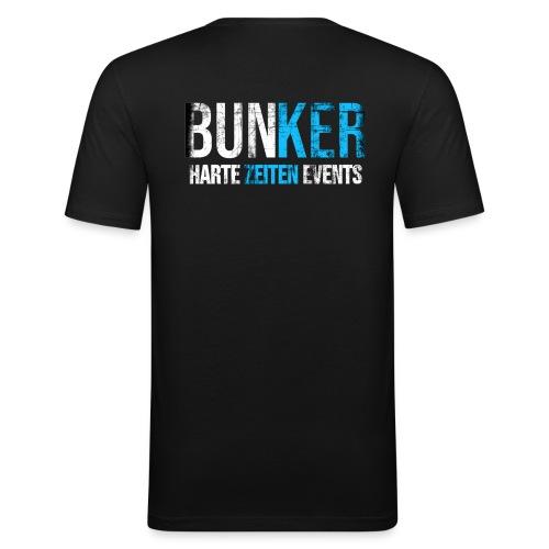 Bunker & Harte Zeiten Supporter - Männer Slim Fit T-Shirt